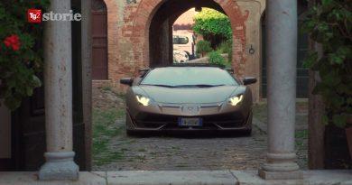 In Lamborghini tra San Galgano e Sovicille